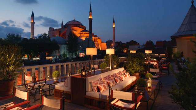 Sultanahmet best roof terrace